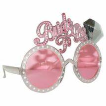Szemüveg, Bride to Be Feliratú Parti Szemüveg Lánybúcsúra