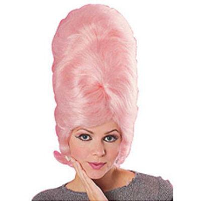 Feltupírozott Rózsaszín Női Party Paróka