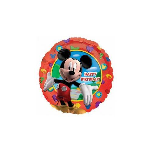 46 cm es Mikiegér - Happy Birthday Mickey's Clubhouse - Fólia Lufi