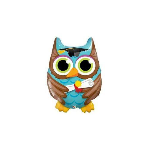 Bagoly - Graduate Owl Ballagási Fólia Lufi