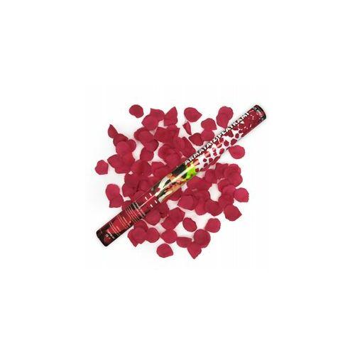 Piros Rózsaszirmokat Kilövő Parti Konfetti Ágyú