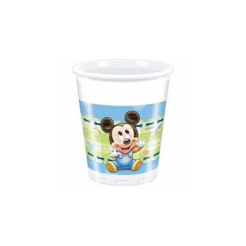 Mickey Miki Egér Baby Parti Pohár - 8 Db-Os, 200 Ml