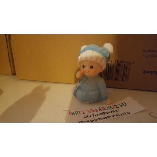 Babaköszöntésre  kisbaba szobor tortára ajándékba