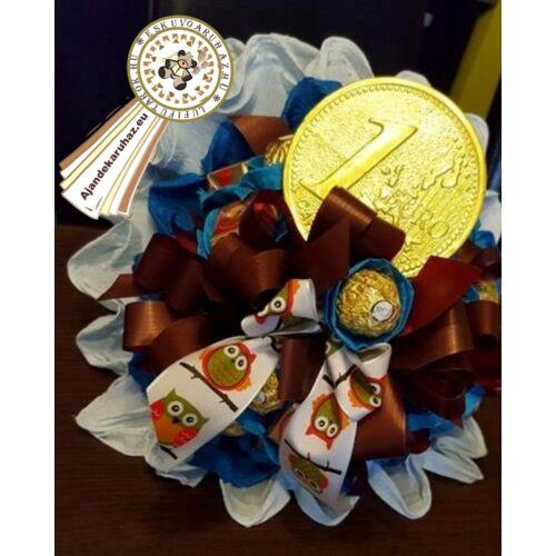 Ferrero Rocher +1 Eurós bonboncsokor+ ballagási szalaggal