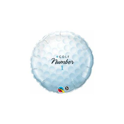 46 cm, Golf Labda - Golf Ball Number 1 Fólia Luf