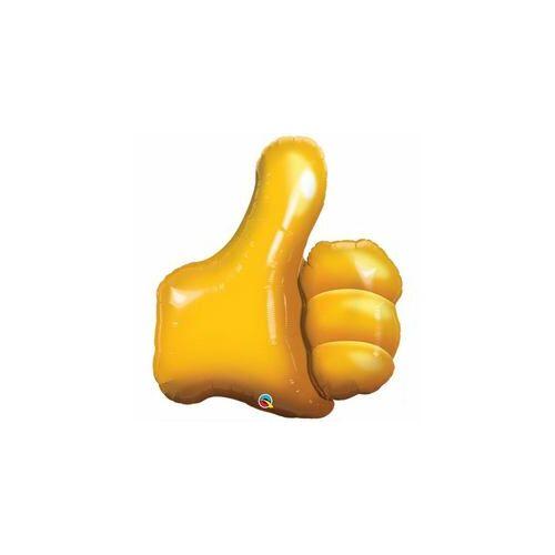89 cm, OK. Thumbs Up! Fólia Lufi Ballagási lufi