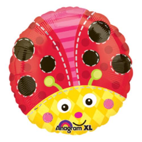 Katicabogár - Cute Lady Bug Fólia Lufi