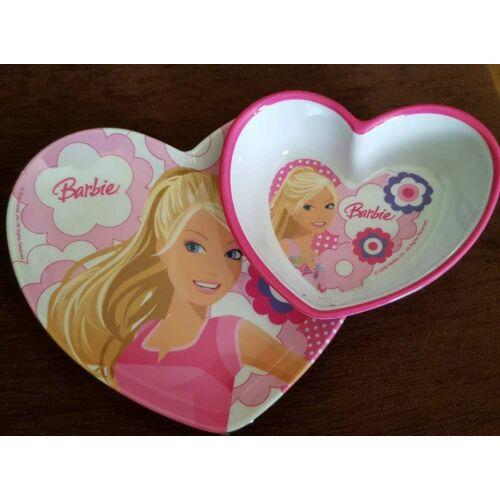 Barbie tányérszett