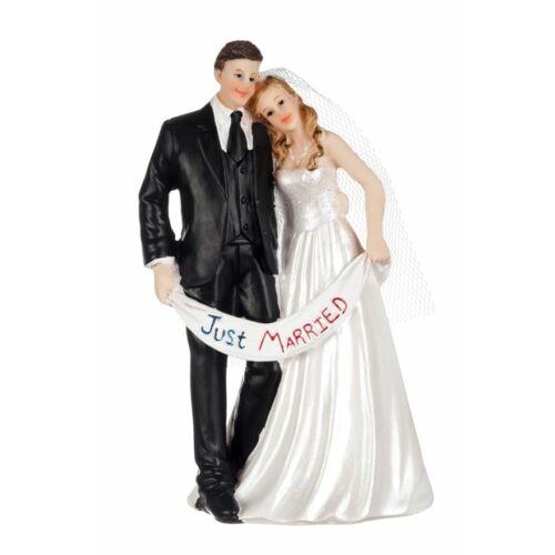Just Married Esküvői tortára tortadísz