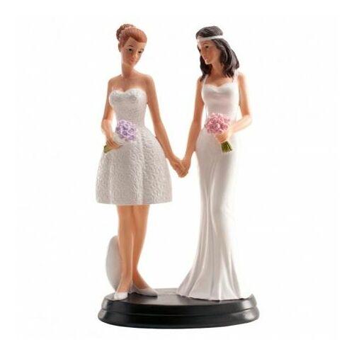Lezbikus esküvői tortadísz