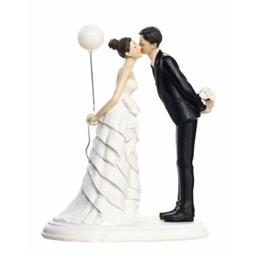 Léggömbös pár Esküvői tortadísz