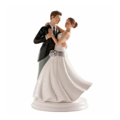 Táncoló esküvői tortadísz