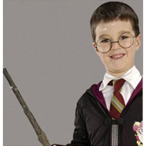 Harry Potter fém Szemüveg és Varázspálca Szett