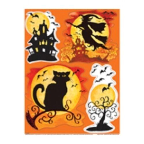 Spooky Hollow Halloween Parti Ablakdekoráció