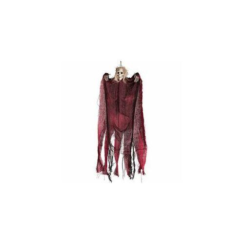 Függő dekor,-Piros Csontváz Szellem Dekoráció, 60 Cm-Es