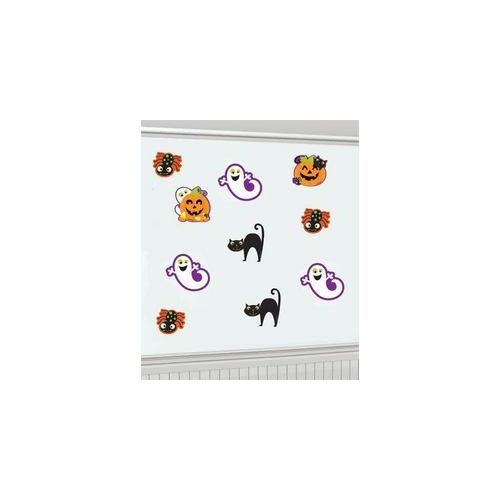 Fali,-Halloween Karton Figurák, 10 Db-Os