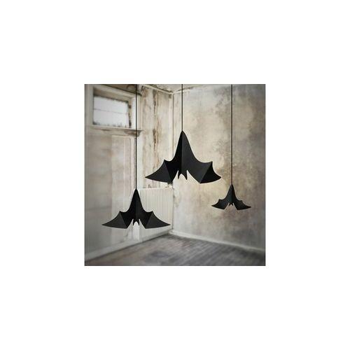 Légtér dekopr,- Karton Denevérek Függő Dekoráció - 3 Db-Os