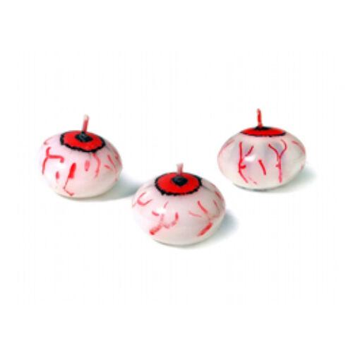 Gyertya,-Véres Szem Úszógyertya Halloweenre - 1 Db