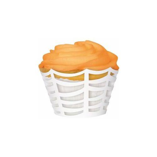 Muffin forma, Pókháló Mintás Muffin Tartó Forma - 12 Db-Os