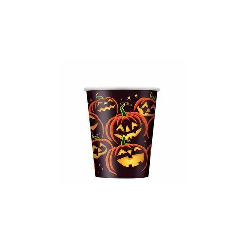 Pohár Pumpkin Grin Parti Pohár Halloweenre - 270 ml, 8 db-os