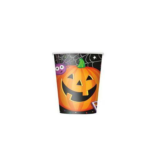 Pohár Pumpkin Pals - Tökfejes Parti Pohár Halloween-re - 270 ml, 8 db-os