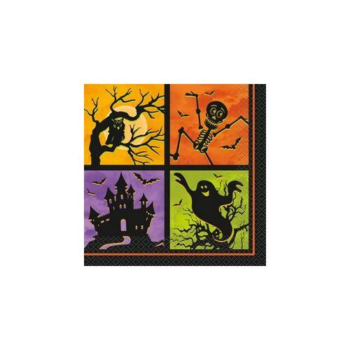 Szalvéta Kísértetház Szalvéta Halloweenre - 33 cm x 33 cm, 20 db-os