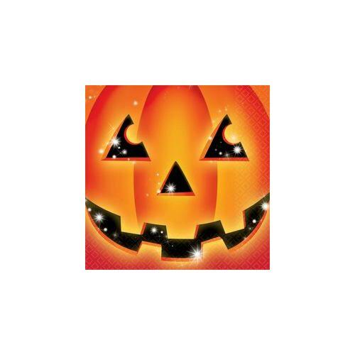 Szalvéta Perfect Pumpkin - Tök Mintás Parti Szalvéta - 33 cm x 33 cm, 16 db-os