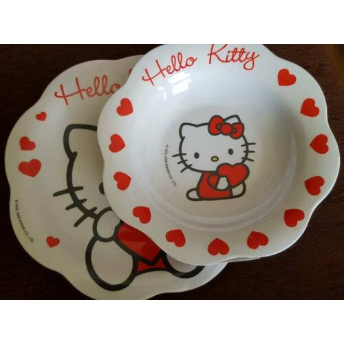 Hello Kitty Sweet Heart tányérszett