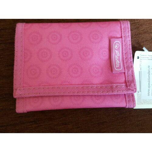 Herlitz rózsaszín pénztárca
