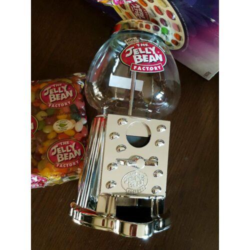 Jelly Bean cukorkaadagoló + cukorkákkal 36 ízben+ díszdobozban