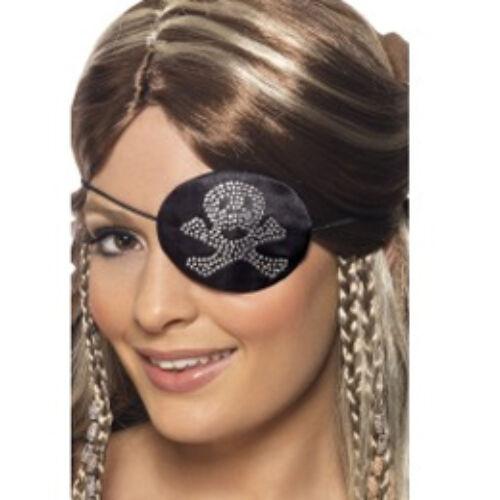 Kalóz,- Strasszköves Kalóz (Pirate) Szemfedő