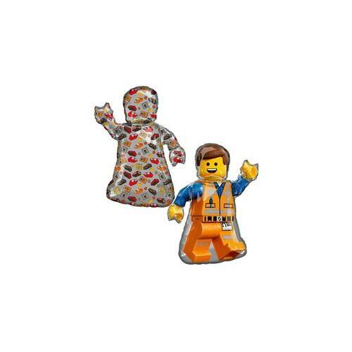 Lego Léggömb XL méretben -Movie 2. Emmet Super Shape Fólia Lufi