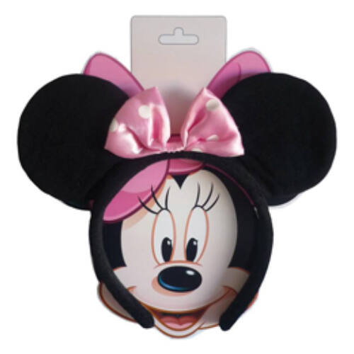 Minnie Mouse Egér - Minnie Mouse Fülek Pink Masnival Gyerek Méretben