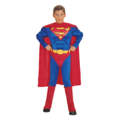 Jelmez, M és L es méretben Superman Jelmez Gyerekeknek
