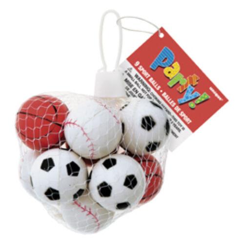 Parti játék, Sport Labda Parti Játék Hálóban - 9 Db-Os