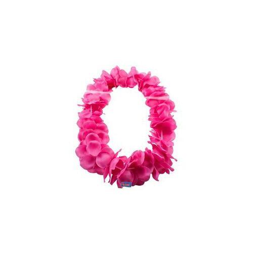 Nyakfüzér Neon Pink Hawaii Parti Nyakfüzér