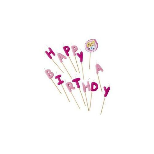 Gyertya, Hercegnők Happy Birthday Gyertya Szett