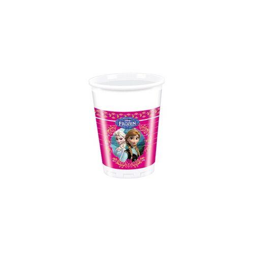 Pohár Frozen - Jégvarázs Parti Pohár - 200 ml, 8 db-os