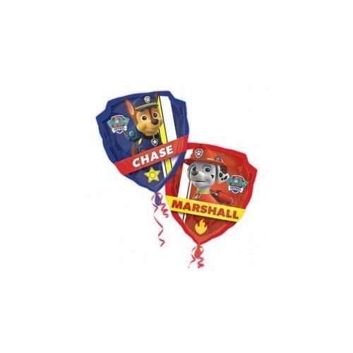 Lufi, 63x68 cm, Héliummal, Paw Patrol Mancs Őrjárat Super Shape Fólia Lufi