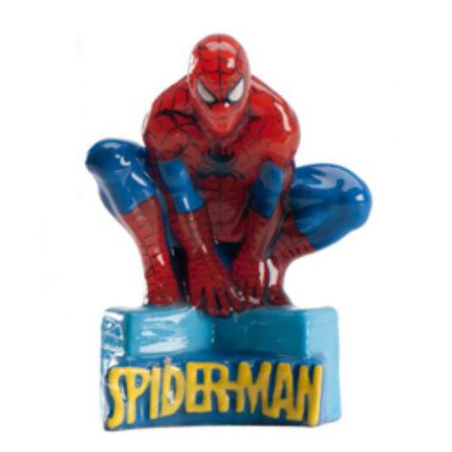 Pókember - Spider Man Születésnapi Gyertya - 9 cm