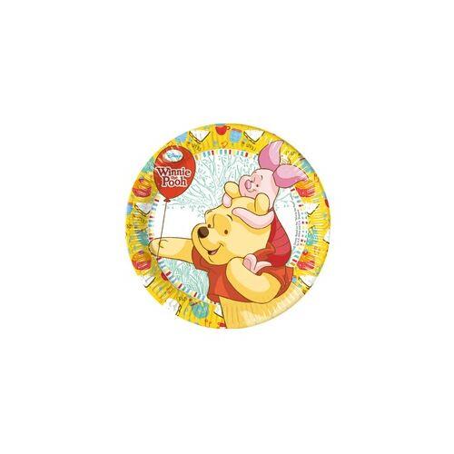 Tányér, Winnie Sweet Tweets - Micimackó Parti Tányér - 20 Cm, 8 Db-Os