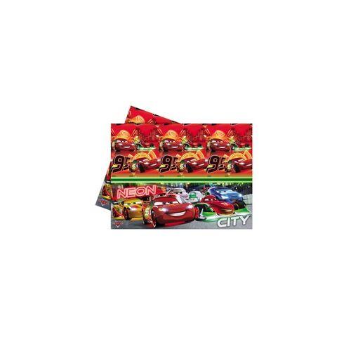 Asztalterítő, Cars Neon - Verdák Parti Asztalterítő - 180 cm x 120 cm