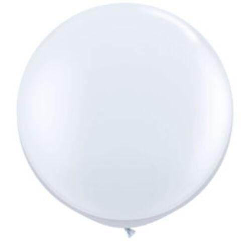 Fehér Óriási léggömb, 91cm, 2db/cs