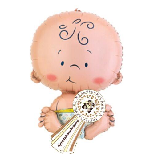 Babaváró Welcome Baby Super Shape Fólia Lufi Babaszületésre