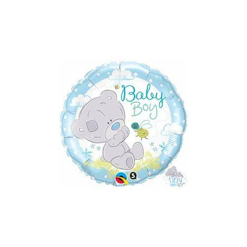 Babaszületés Tiny Tatty Teddy Baby Boy Fólia Lufi