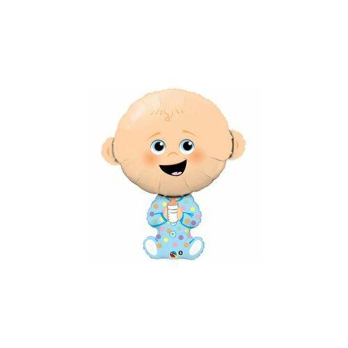 Babaszületésre Baby Boy - Kisfiús Baba Fólia Lufi