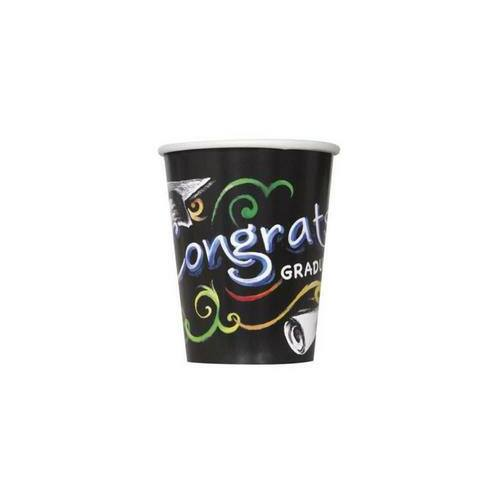 Ballagási Congrats Graduate - Parti Pohár - 8 db-os, 270 ml