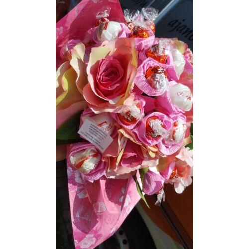 Bonboncsokor virágokkal