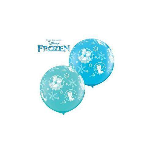 Óriási Disney Frozen Anna, Elsa and Olaf-a-rnd Lufi