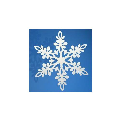Fehér Hópehely Dekorációk